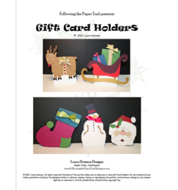 holiday gift card holders pattern cover