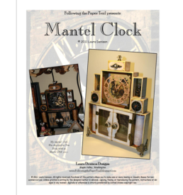 mantel clock pattern cover
