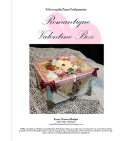 romantique valentine box pattern cover
