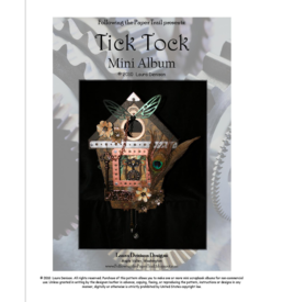 tick tock clock pattern cover