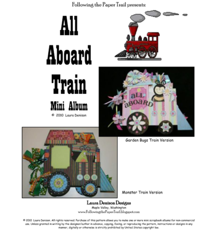 train mini album cover