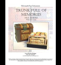 trunk full of memories pattern cover