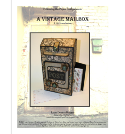 vintage mailbox pattern cover