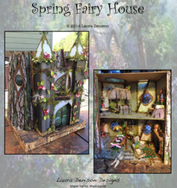 Spring Fairy House pattern cover