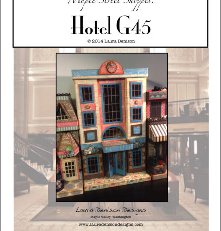 Hotel g45 pattern cover