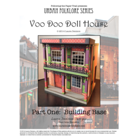 Voodoo doll house pattern cover